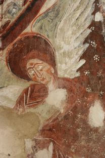 Angel. Apse of Les Cluses