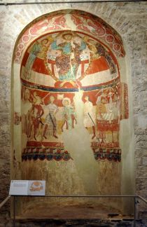 Mural paintings of Santa Maria de Terrassa devoted to the martyrium of Thomas Becket